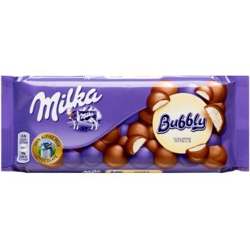 Q32 Milka Bubbly White...