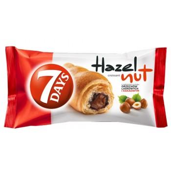 W4 7Days Croissant Hazelnut...