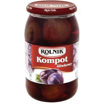 X9 Rolnik Kompot Sliwkowy...